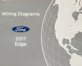 2017 ford edge wiring diagram manual oem factory - $11.79