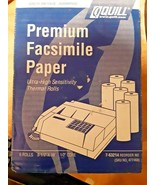 """Quill Universal Facsimile Paper 6 Rolls 8.5"""" x 98' 1/2"""" Core Thermal (7-... - $24.74"""