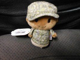 "Hallmark Itty Bitty's ""Military Camo Girl African American Green"" 2016 N... - $12.03"