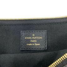 NEW Louis Vuitton Pochette Double Zip Black Jungle Giant Monogram Crossbody Bag image 11