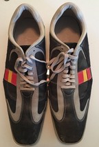 Cole Haan GrandP Navy Square Toe Leather Lace Up Oxford Tennis Sneakers Mens 13 - $69.99