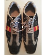 Cole Haan GrandP Navy Square Toe Leather Lace Up Oxford Tennis Sneakers ... - $69.99