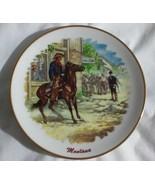 Montana Souvenir Collectors Plate Horse Rider Saloon - $12.99