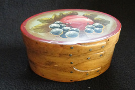 Sweet vintage 1980's Hand made shaker box - $35.00