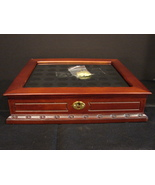 PCS Platinum and Gold-Highlighted U.S. Presidential Coins Display Box - $18.99