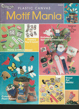 Motif Mania  75+ Magnets Fridgies Motifs Appliques plastic canvas patterns - $3.71