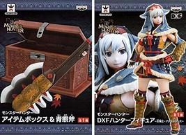 NEW Monster Hunter DXF dx Figure Ashira Swordswoman Arzuros Ver. Japan Banpresto - $38.52