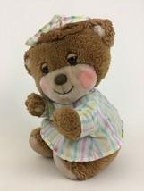 Fisher Price 1401 Teddy Beddy Bear Plush Stuffed Toy Bedtime Pajama Vint... - $26.68