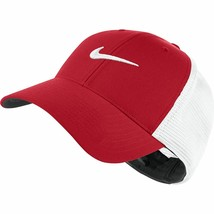NEW! NIKE [S/M] Adult Legacy91 Tour Mesh Cap/Hat-Red/White 727031-658 - $64.23
