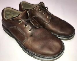 Dr Martens Shoes 11194 Brown Leather Lace Up Oxfords Mens Sz 10 / Womens Sz 11 - $34.65