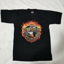Harley-Davidson Sturgis 2005 Graphic Tshirt M Black Hills Rally 65th Ann... - $19.99