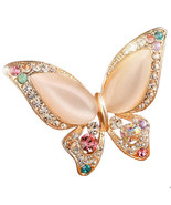 Brooches, 3 colors choose wedding butterfly good gift - $6.99