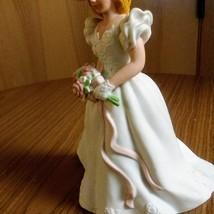Vintage Avon 1986 Summer Bride Hand Painted Fine Porcelain Figurine  image 7