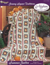 Summer Garden Granny Square Traditions Afghan Pattern The Needlecraft Shop TNS - $3.46