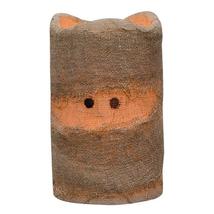 """Halloween Mummy Pillar Candle 3.5 """" Centerpiece Floral Porch Grungy - $18.00"""