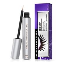 Eyelash Growth Serum, 100% Natural Eyelash Enhancing Serum for Longer, T... - $24.01