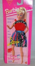 1993 Barbie Great Weekend Wear 2 Piece Dress Fashions Mattel 68014 - $9.99