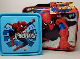 Spiderman Lunchbox. Includes A Chillpak Sandwich Box! - $15.16