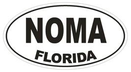 Noma Florida Oval Bumper Sticker or Helmet Sticker D1331 Euro Oval  - $1.39+