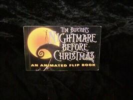 Disney Tim Burton Animated Flip Book 1993 - $16.99