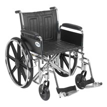 Drive Medical Sentra EC With Full Arms and Footrests 24'' - $368.29