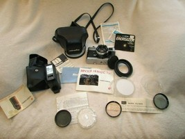 Vintage Minolta Hi-Matic 7S II Camera Case Instructions Flash Polarizing Filter - $394.02