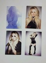 Lot of 4 Carrie Underwood Cry Pretty Tour Postcards - $9.99