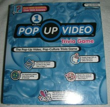 NEW VH1 Pop Up Video Pop Culture Trivia Game NIB Factory Sealed - $23.05
