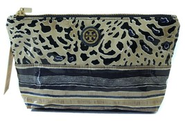 NIB TORY BURCH Small Slouchy Cosmetic Case Bag, Multicolor - $67.15