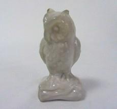 Boyd Art Glass Owl # 32 Sandpiper Solid Glass Figurine B In Diamond - $17.99