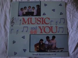 Nuevo Sellado Merrill Staton Música y Usted Muestra Record Grades 6 7 8 ... - $18.48