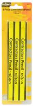 6 Piece Contractors Pencil Pack #ebj - $6.19