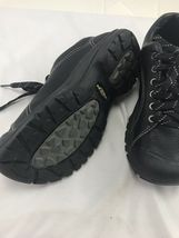 Keen sz 8 black leather tie shoes image 4
