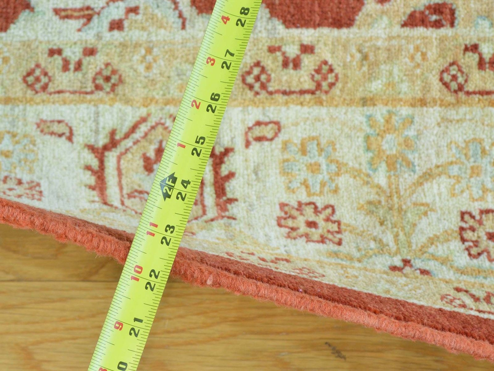 """5'x6'2"""" Ziegler Mahal Oushak Pure Wool Hand Knotted Oriental Rug G26864"""