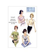 Vogue Patterns 9187 A5 Misses Top, Size 6-14 by Vogue Patterns - $15.68
