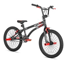 X Games FS-20 BMX/Freestyle Bicycle, 20-Inch, Black Red - $213.01
