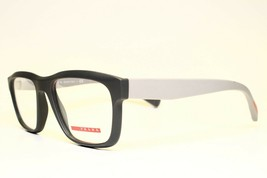 NEW AUTHENTIC PRADA VPS 07G TFZ-1O1 GREY EYEGLASSES FRAME RX 53-18 140 - $87.12