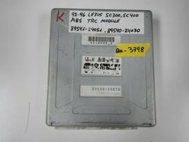 92-96 LEXUS SC ABS TRC MODULE (  MATCH # 89541-24051 / 89540-24070 (BOX-... - $9.85