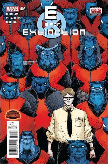 E IS FOR EXTINCTION #2-4 Lot (Marvel/2015)