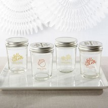 Personalized Printed Glass Mason Jar - Fall (3 Sets of 12)  - $63.99