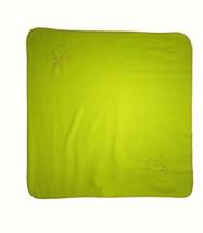IKEA Green Orange Snail Bird Fleece Baby Blanket Lovey 35x35 Unisex EUC - $21.29