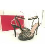 Kate Spade Farryn Bronze Lurex Platform High Heels Sandals - $115.57