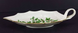 "LENOX China Holiday Dimension 10-1/8"" Leaf Dish Handled Dinnerware image 2"