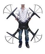 NiGHT LiONS TECH ® 47.2 Inch Drone N7C-1 6 Channel 6 Axis GYRO Big Quadc... - $358.36