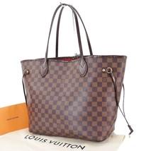 Authentic LOUIS VUITTON Neverfull MM Damier Ebene Tote Bag Purse #29443 - $1,195.00