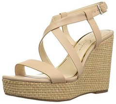 Jessica Simpson Women's SALONA Wedge Sandal, Sand Dune, 10 M US - $34.90