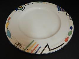 "Mikasa Ultima HK 232 Headline 12"" Chop Plate Round Platter Multi Color G... - $24.70"