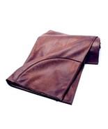 Daniel Stuart Studio Diablo Rustic Faux Leather Throw Blanket - £178.17 GBP