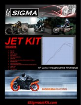 6 Sigma Hyosung Comet GT650R Jet Kit GT650 GT 650R 650 Carburetor Carb S... - $46.28