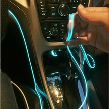 Car Interior Atmosphere LED Lamp Colorful Cold Light 5m Line With USB C... - $17.69